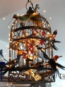 three demensional needlepoint birds