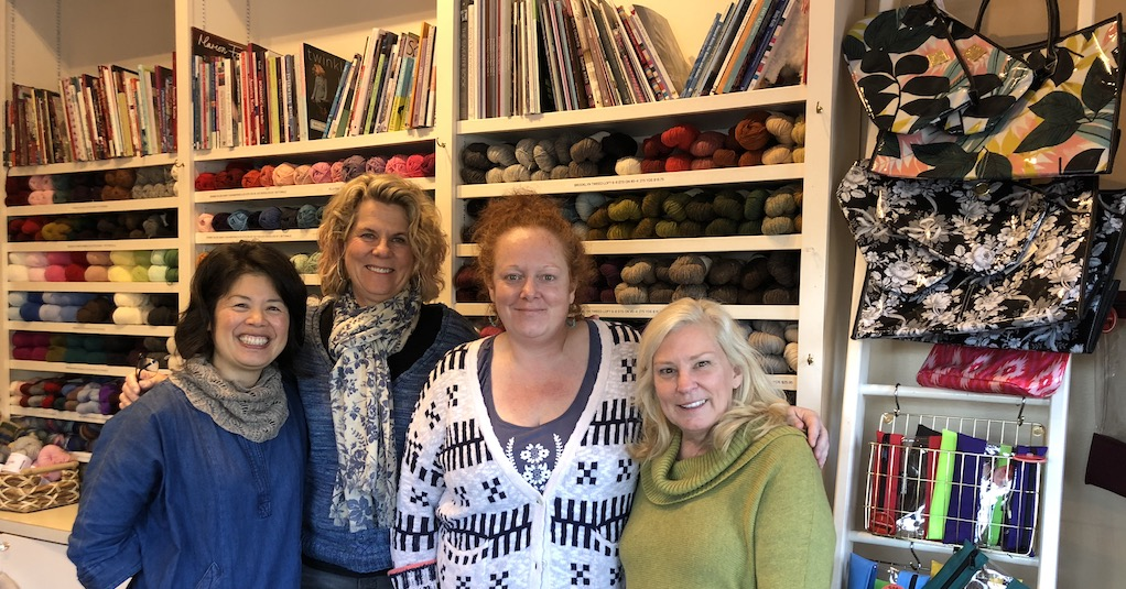 Westport yarns owner and crew