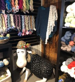 Black Purls Yarn Shop, Sandwich, Massachusetts