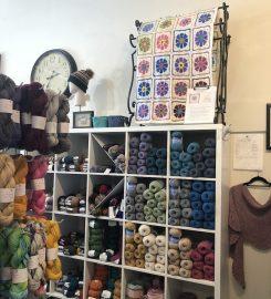 Knit yarn and fiber studio